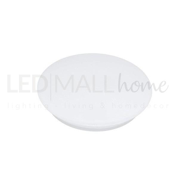 Lampada Plafoniera Led Circolare per interni 22W Luce Naturale soffitto o parete diametro 404mm casa ufficio condominio scale