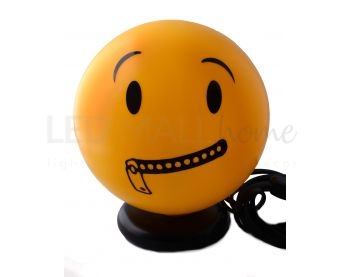 Lampada Emoticon Smile Happy Lamp ZIP