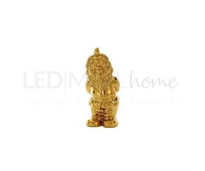 Statuina gnomo memorabilia piccola oro goldies