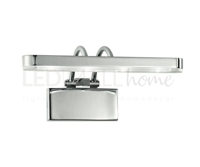 APPLIQUE LED EPSILON ORIENTABILE CROMO 4W 320LM 3500K 19X15X9CM