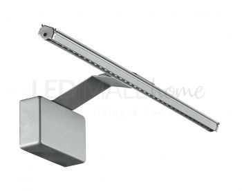 APPLIQUE LED ALCOR SILVER 5W 500LM 3000K 30,5X15X10CM