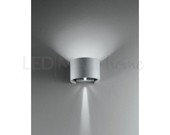 Applique  con luce led tondo 6 watt 3000 kelvin
