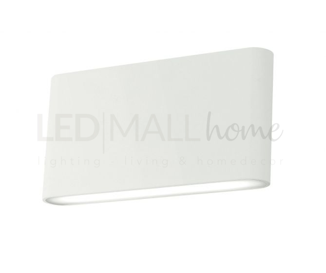 APPLIQUE LED GAMMA BIANCO 2X5W 1080LM 3000K IP54 17X9X4CM