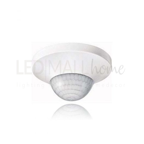 Sensore Movimento a soffitto Infrarossi Pir Crepuscolare Rileva Presenza Luci Lampade Lampadine Faretti led alogeni