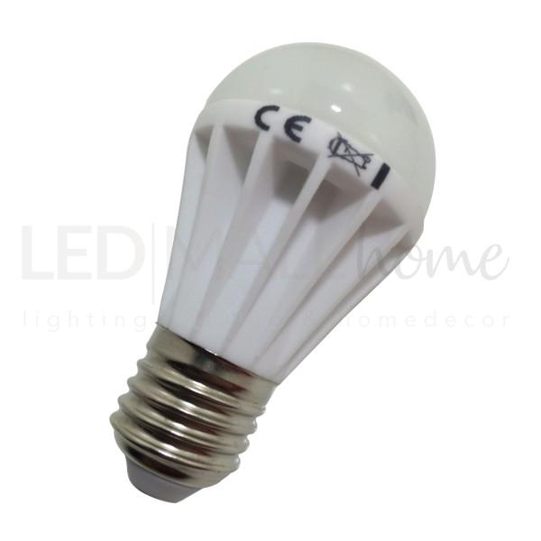 Lampada bulbo A50 - 6w LED - attacco E27 - 500 lumen luce bianco caldo