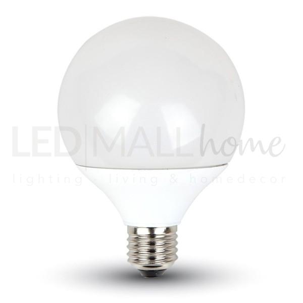 Lampada bulbo globo sfera led  G95  10W attacco E27  bianco freddo