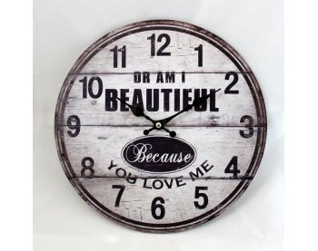 "Orologio Vintage ""Or I am beautiful"""