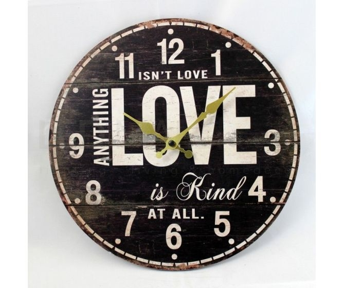 "Orologio Vintage ""Isn''t Love"""
