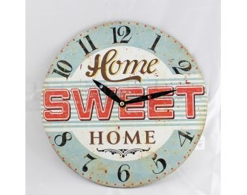 Orologio Home Sweet Home 2""