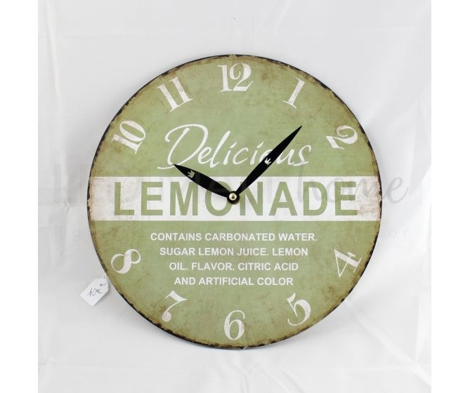 "Orologio ""Delicious Lemonade"""