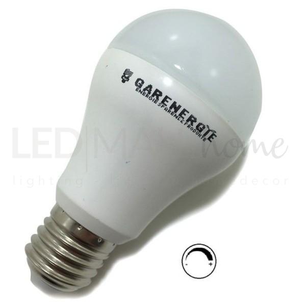 Lampadina A60 led dimmerabile 10w E27 Bianco caldo 800 Lumen