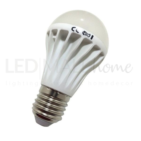Lampada bulbo A55 - 7w led - attacco E27 - 540 lumen - bianco caldo