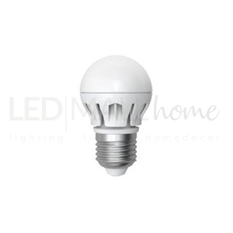 Lampadina led pallina mini globo e27 24 volt 6w 4000k b for Acquisto lampadine led on line