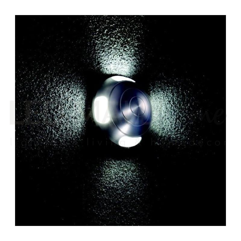 Faretto led segnapassi 3w 6000k luce fredda 170lm ip44 da for Segnapassi a led