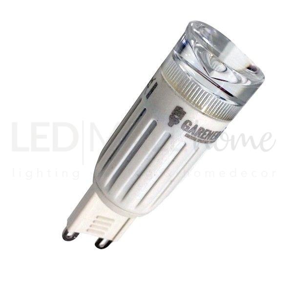 LAMPADA LED G9 3W 6000K BIANCO FREDDO PER LAMPADARI APPLIQUE LAMPADE IN SOSTITUZIONE DELLE 40W ALOGENE