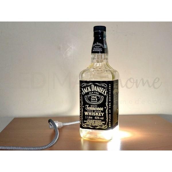LAMPADA BOTTIGLIA JACK DANIEL'S CON G9  FREDDA INCLUSA LED
