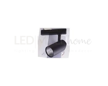 FARO BINARIO LED ACTION NERO 42W 4200LM 3000K 19,5X22,5X9CM