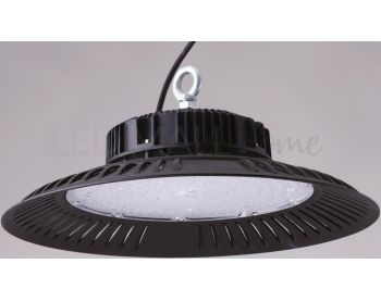LAMPADA HIGH-BAY LED ALIEN NERO 100W 9000LM 4000K IP65 24X8,8CM