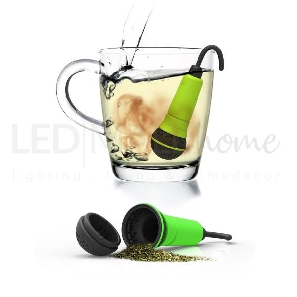 SPO-TEA-FY INFUSORE PER TE' a forma di microfono verde