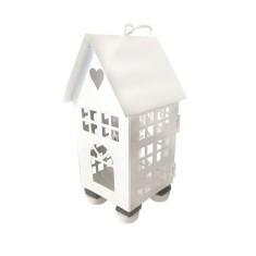 LAMPADA DA TAVOLO ATTACCO G9 IN METALLO COLORE BIANCO - HOME LAMP
