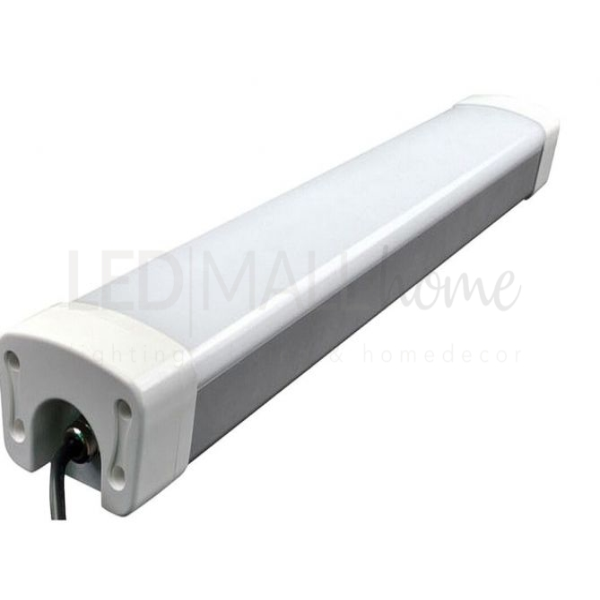 LAMPADA PLAFONIERA LED 40W IP65 LUCE  NATURALE USO ESTERNO ED INTERNO SOSTITUISCE VECCHIE 2X36W FLUORESCENTI NEON