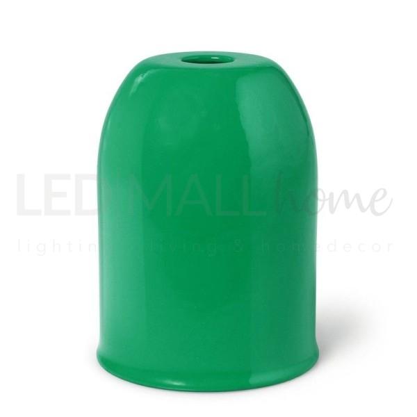 Portalampada KIt  E27 in metallo Colorato Verde