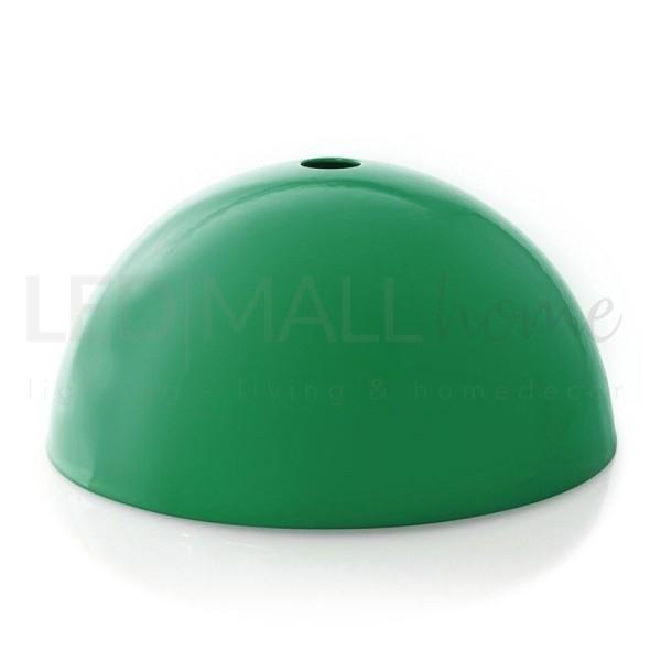 Rosone da lampadario in metallo-Verde