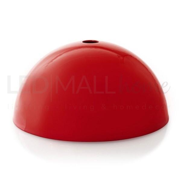 Rosone da lampadario in metallo-Rosso