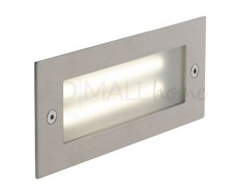 INCASSO LED BOLT NIKEL 6W 480LM 4000K IP54 17X6,8X7,5CM