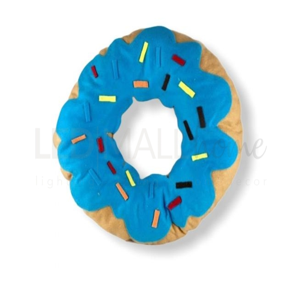 Cuscino Ciambella blu