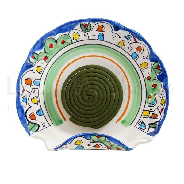 Portazampirone in Ceramica Vietri h 26 largh 23