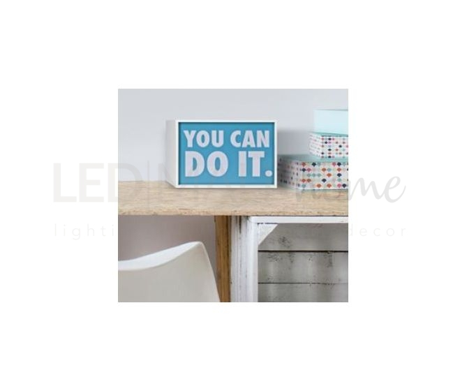 LETTERA LUMINOSA A-Z LED QUADRETTO  LUMINOSO - LIGHT BOX LARGE TURN ME ON